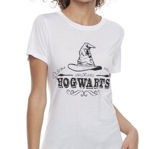 NEW Harry Potter Sorting Hat Graphic Tee